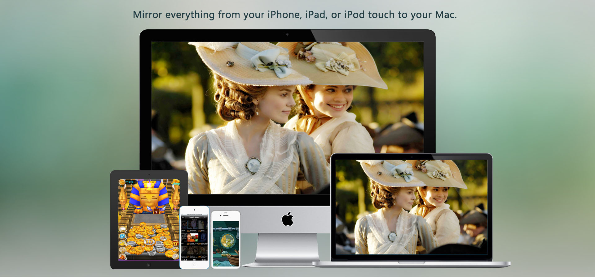 airplay receiver for mac, x-mirage, mirror, airplay, stream photo